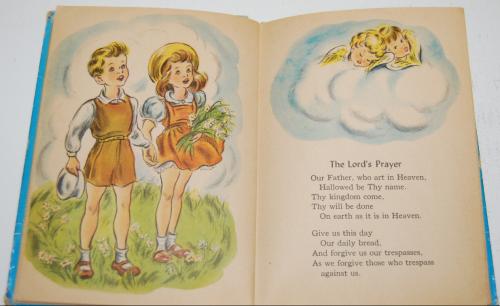 Prayers story hour book vintage 8