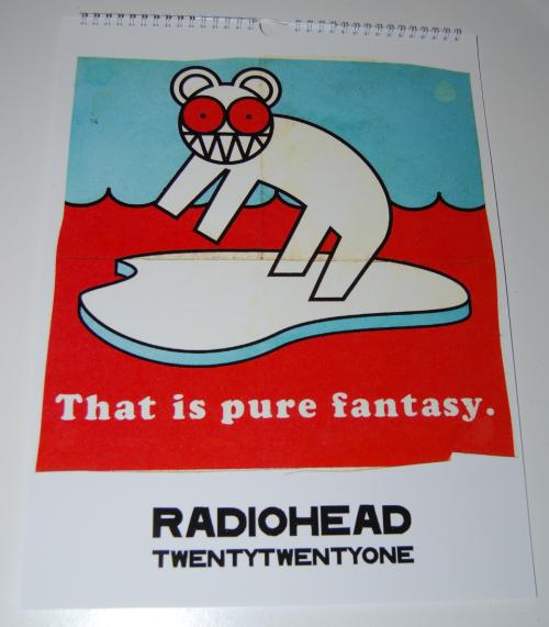 Radiohead calendar 2021