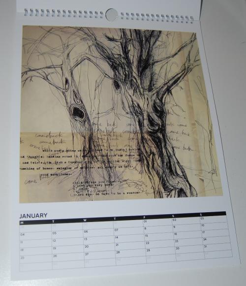 Radiohead calendar 1