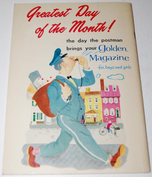 Golden magazine jan 1967 x