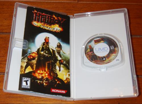 Hellboy videogame