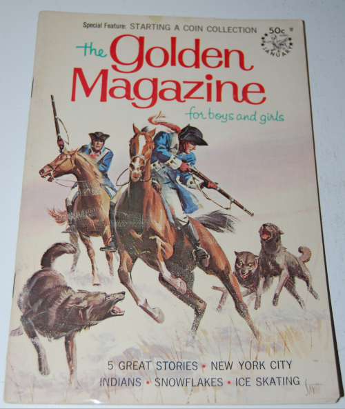Golden magazine january 1968