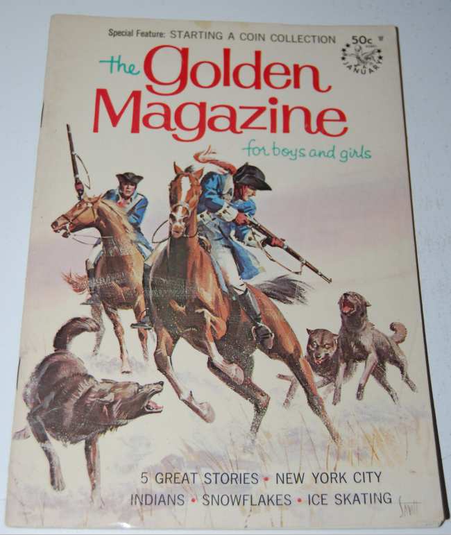 golden magazine ~ january 1968