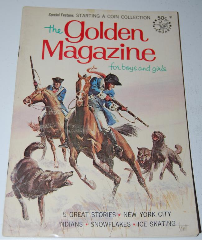 golden magazine ~ january 1968