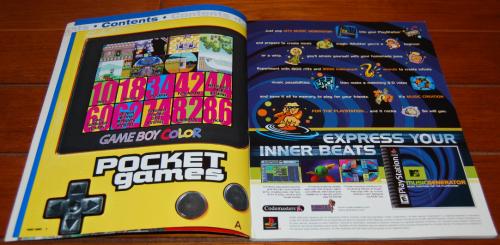Pocket games magazine 1