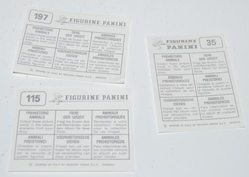 Panini stickers x