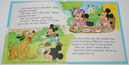 Mickey mouse pet show book 5