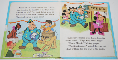 Mickey mouse pet show book 7