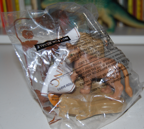 Happy meal toy lion king 1