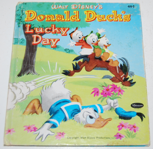 Donald duck's lucky day