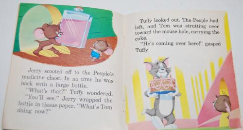 Tom & jerry birthday book 3