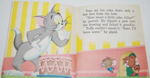 Tom & jerry birthday book 4