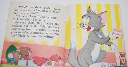 Tom & jerry birthday book 6