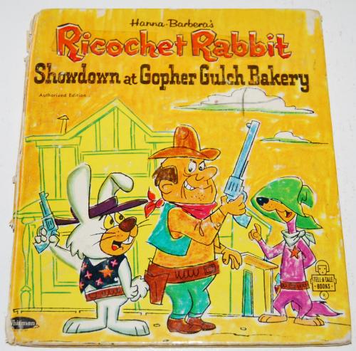 Ricochet rabbit book