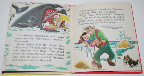 Pinocchio tellatale book 6