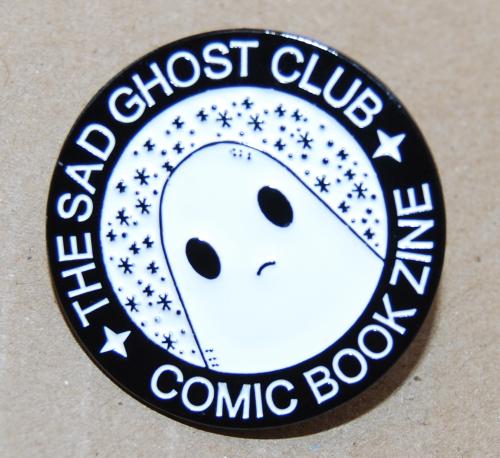 Sad ghost club badge 1