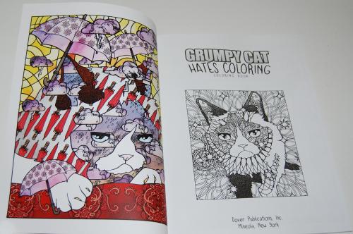 Grumpy cat hates coloring book 1