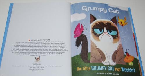 Grumpy cat little golden book 1