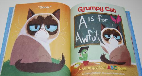 Grumpy cat little golden book 4