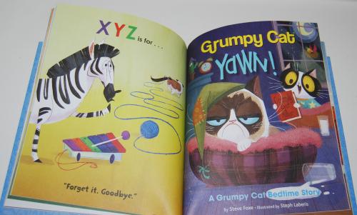 Grumpy cat little golden book 7