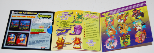 Wendy's kids meal cd games