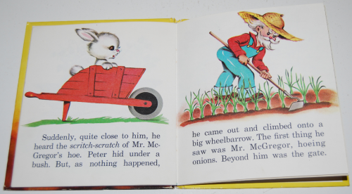 Whitman peter rabbit book 6