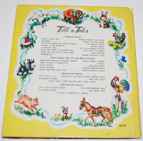 Whitman peter rabbit book x