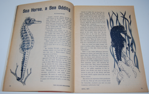 Golden magazine april 1971 4