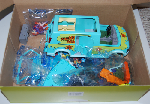Playmobil scooby doo mystery machine set