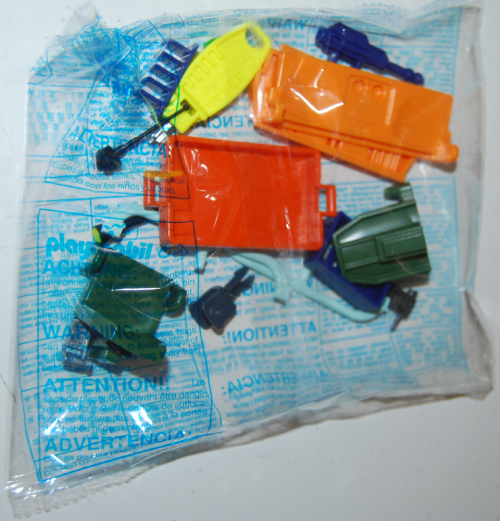 Playmobil scooby doo mystery machine parts