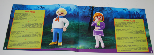 Playmobil scooby doo fred daphne