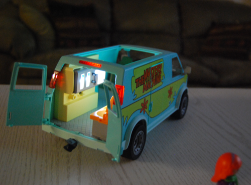 Playmobil scooby doo mystery machine van toy