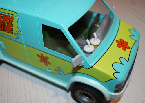 Playmobil scooby doo mystery machine van playset