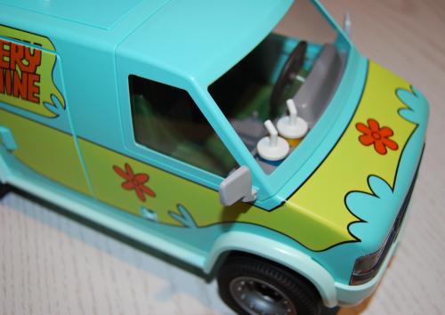 Playmobil scooby doo mystery machine van playset