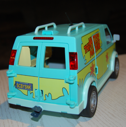 Playmobil scooby doo mystery machine van toy x