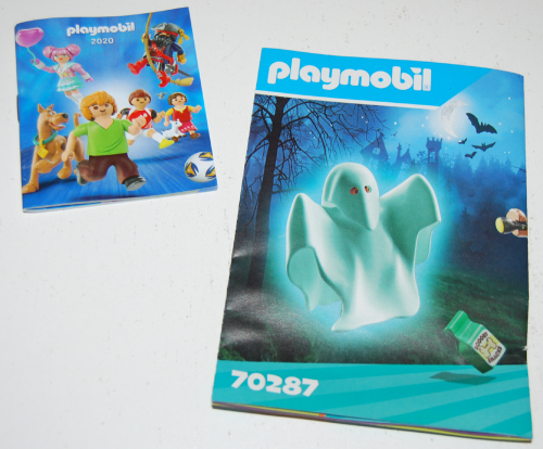 Playmobil scooby doo ghost toy play set