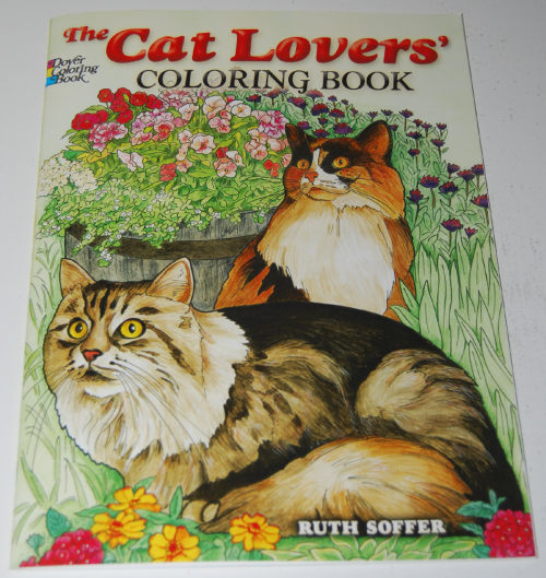 Dover cat lovers coloring book
