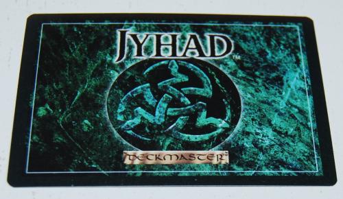 Jyhad deckmaster card