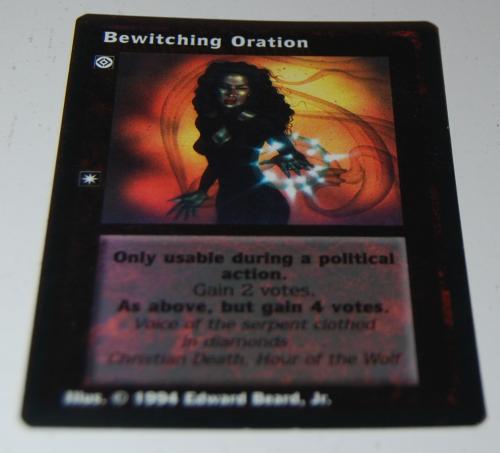 Jyhad deckmaster card x