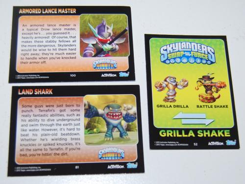 Skylanders cards