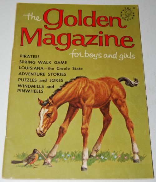 Golden mag may 1965