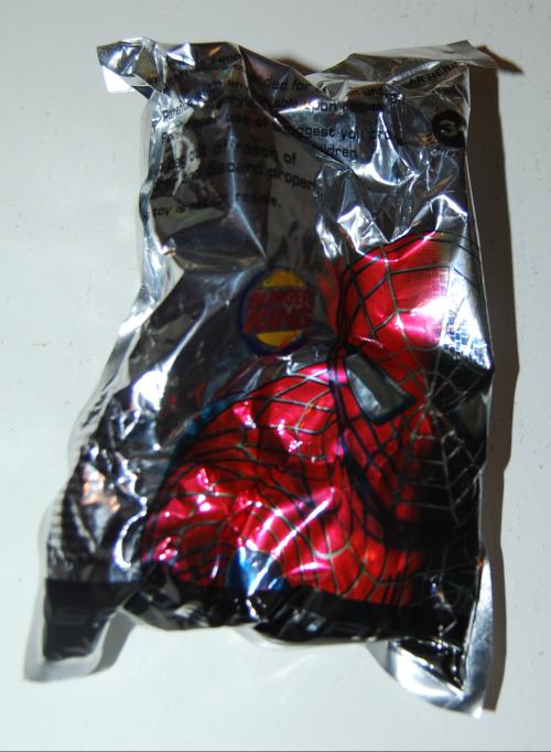 Spiderman bk toy