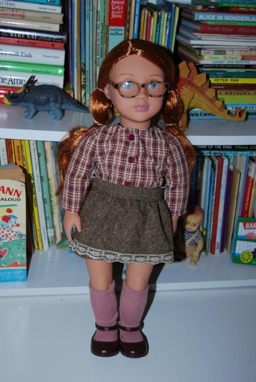 Our generation schoolgirl doll x