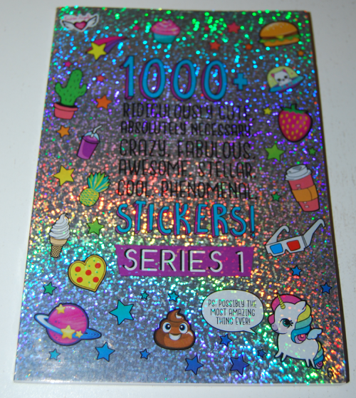 1000 ridiculously cute stickers book