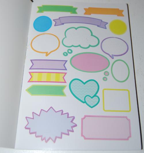 1000 ridiculously cute stickers book 1