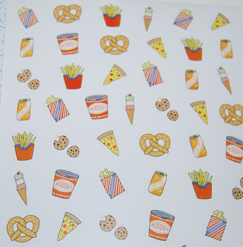 So many stickers book 4
