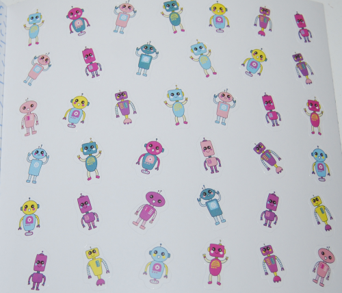 So many stickers book 6