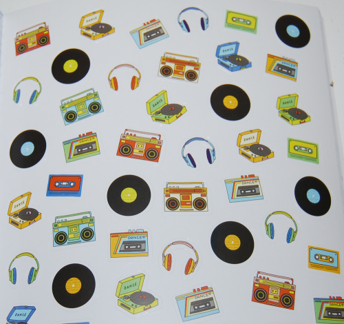 So many stickers book 13