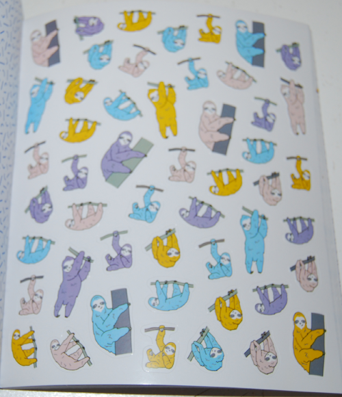 So many stickers book 11