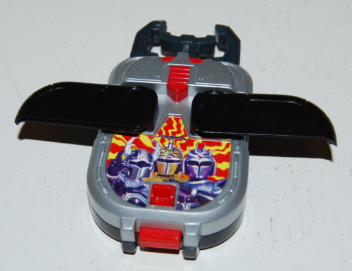 Happy meal toy battle borgs 3x